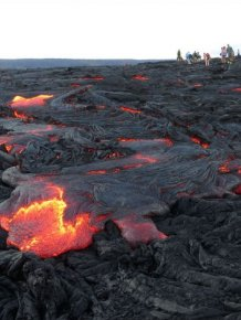 Lava From Kilauea Volcano In Hawaii Finally Reaches The Ocean