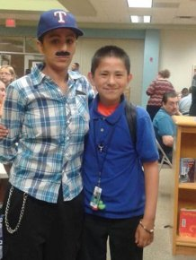 Single Mom Dresses Up As Dad So Her Son Could Attend Donuts With Dads Day