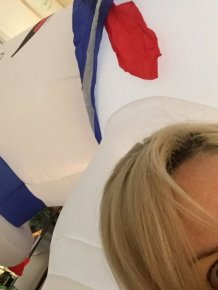 Woman Inflates Giant Stay Puft Marshmallow Man In The Wrong Room