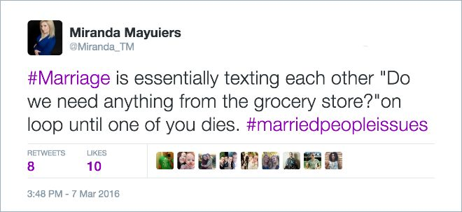 Wives Share Brutal And Hilarious Tweets About Marriage