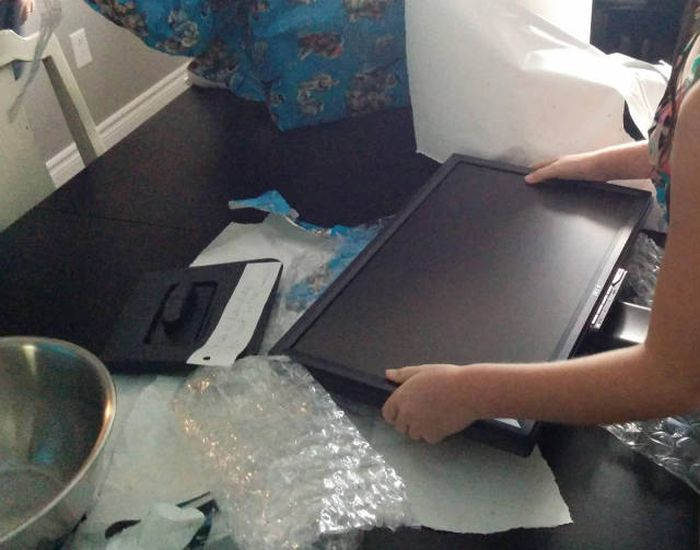 Two Brothers Get The Perfect Gift For Their Gamer Sister