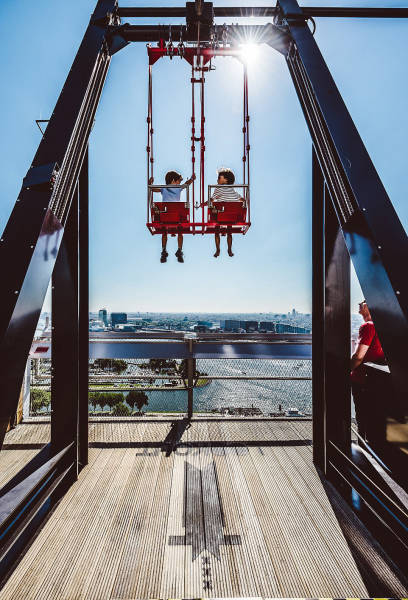 Amsterdam Is Home To One Of The World's Most Terrifying Swings