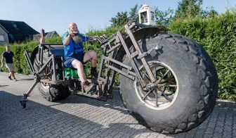 German Man Builds Heaviest Bike In The World