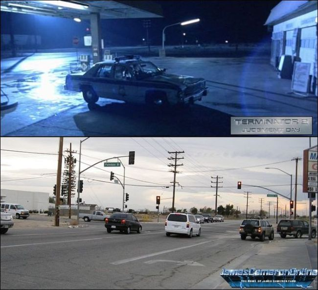 See What The Locations From Terminator 2 Look Like 25 Years Later