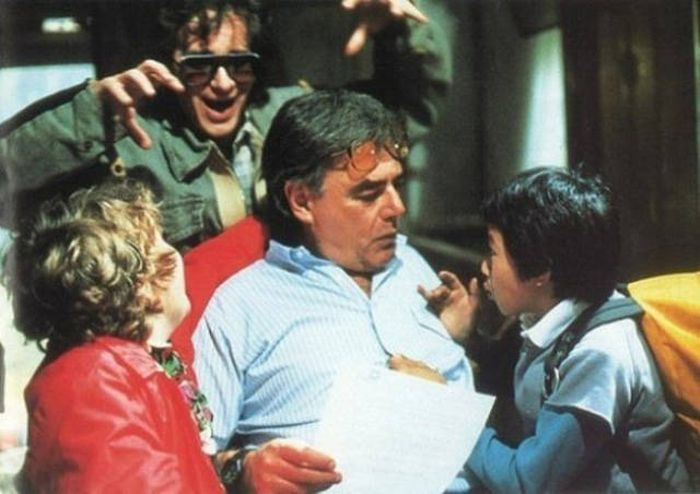 Amazing Behind The Scenes Photos From The Goonies