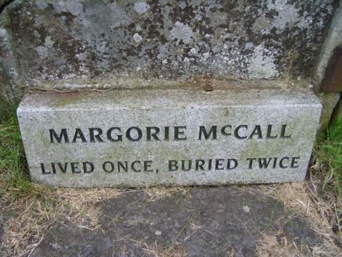 The Story Of The Woman Who Lived Once, But Was Buried Twice