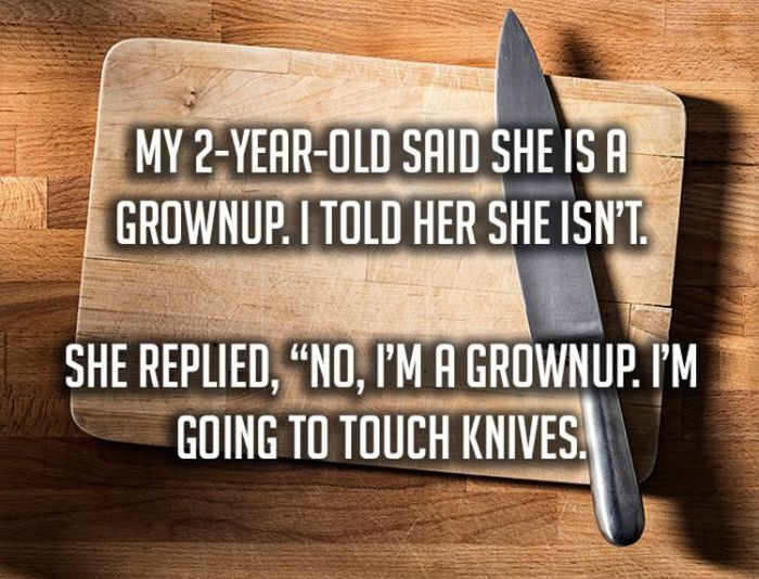 Hilariously Screwed-Up Things That Kids Have Said To Their Parents