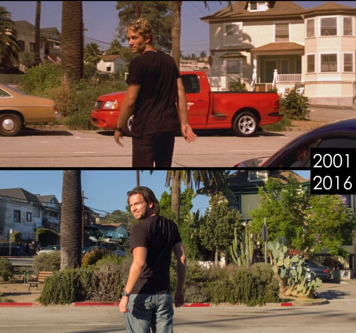 Locations From Famous Movies Then And Now