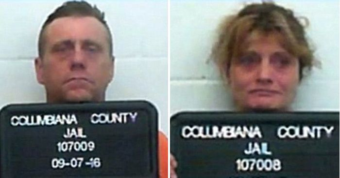 Horrifying Photos Show Heroin Addicted Parents Passed Out In Car