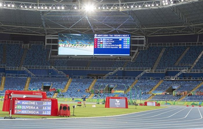 Paralympics Kick Off To Small Crowds In Brazil