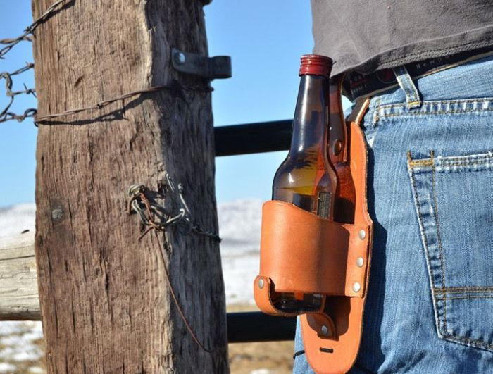 This Holster Is A Beer Drinker's Dream Come True