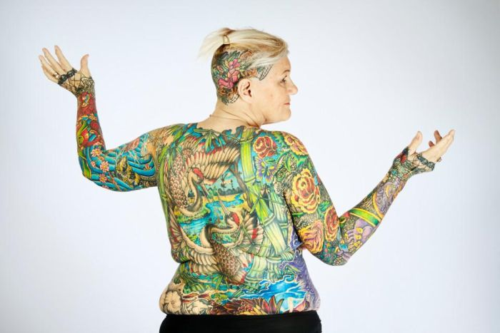 Cool Pensioners Hold Guinness Record For Being Covered In Tattoos