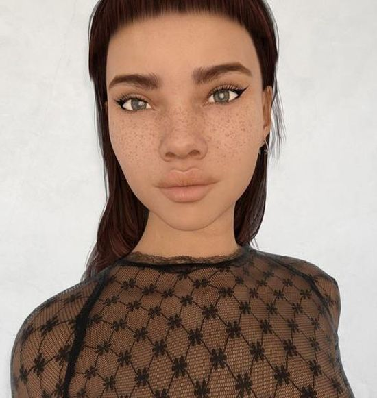 Instagram Model Makes Her Followers Wonder If She's Real Or A Sim