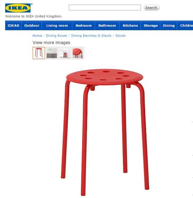 Norwegian Man Has Unhappy Accident While Using IKEA Furniture
