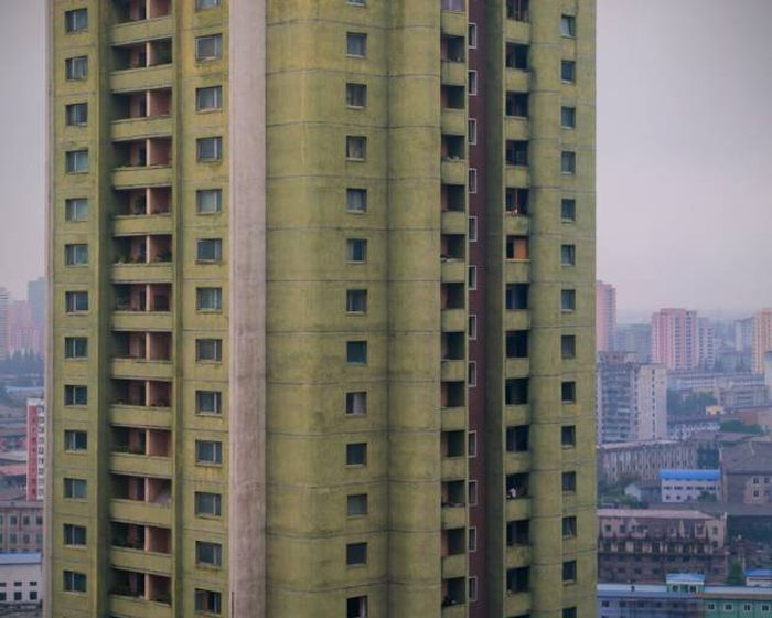Fascinating Photos From North Korea's Architecture Tour Of Pyongyang