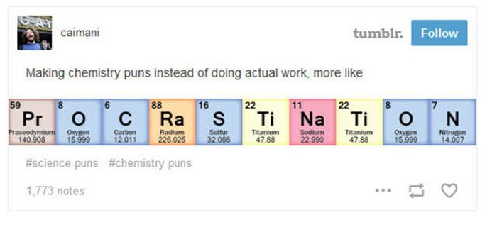 Clever Science Jokes From Tumblr For Your Amusement