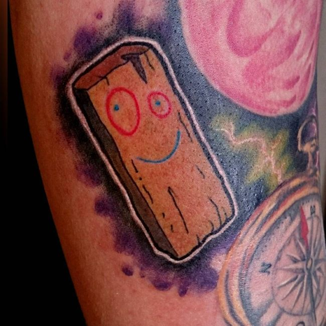 Awesome Tattoos Of Cool Cartoon Characters | Others