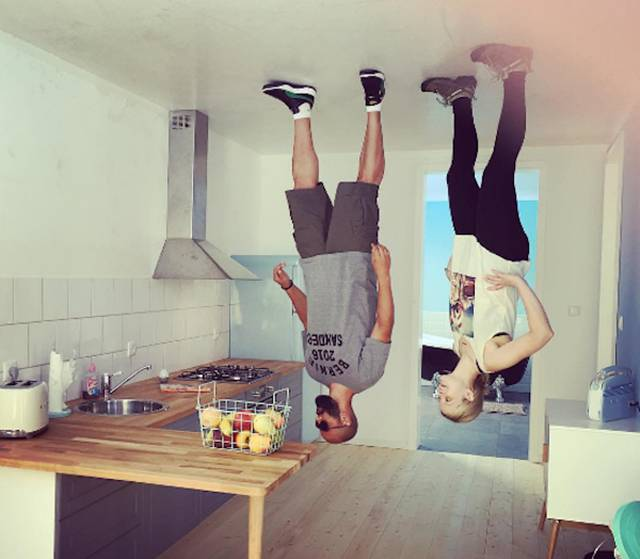 Upside-Down Café In Germany Is A Must See For Tourists