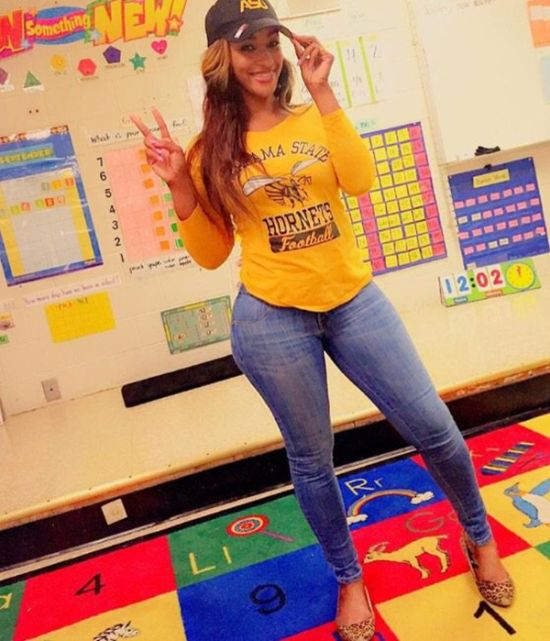 This Teacher Is Getting Shamed For What She Wears In Class
