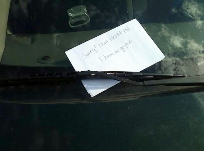 Hilariously Aggressive Windshield Notes You Should Totally Use