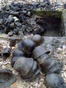 Massive Stash Of World War I Helmets Found In France