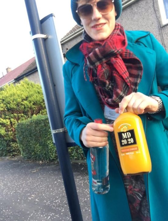 Underage Guy Dresses Up As His Mom So He Can Buy Alcohol
