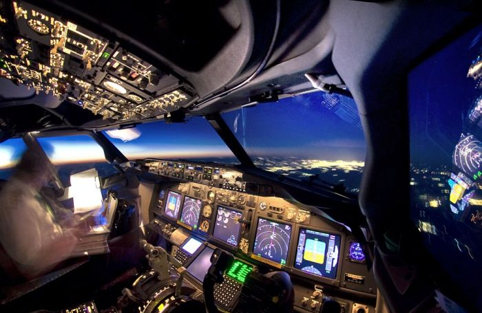 Incredible Photographs Captured From The Cockpit Of An Airplane