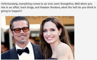 Angelina Jolie Files For Divorce From Her Hollywood Husband Brad Pitt