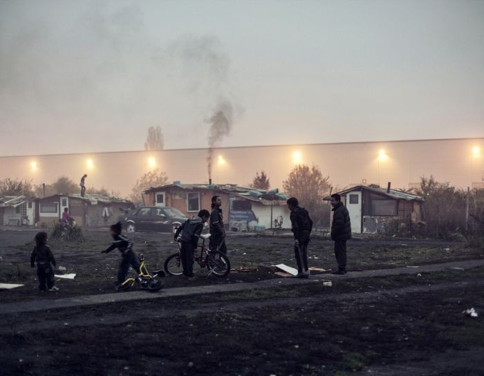 A Day In The Life Of Romanian Gypsies Living On The Polish border