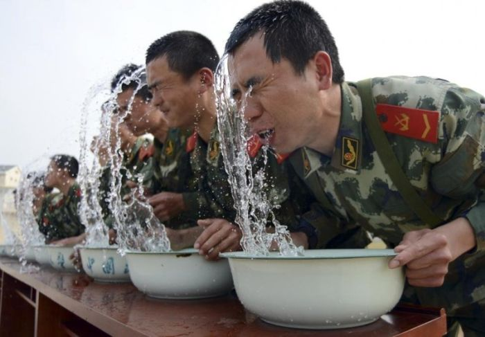 Chinese Soldiers Must Go Through Intense Training To Join The Military