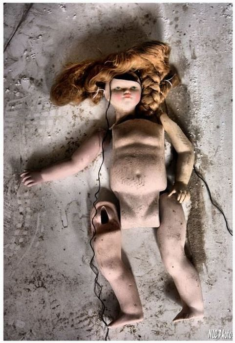 These Photos From An Abandoned Doll Factory Will Fuel All Of Your Nightmares