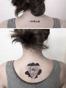 Breathtaking Minimalist Tattoos By A Korean Artist