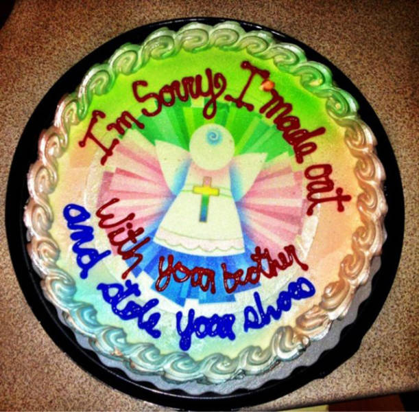 The Best Way To Deliver Bad News Is To Do It With A Cake