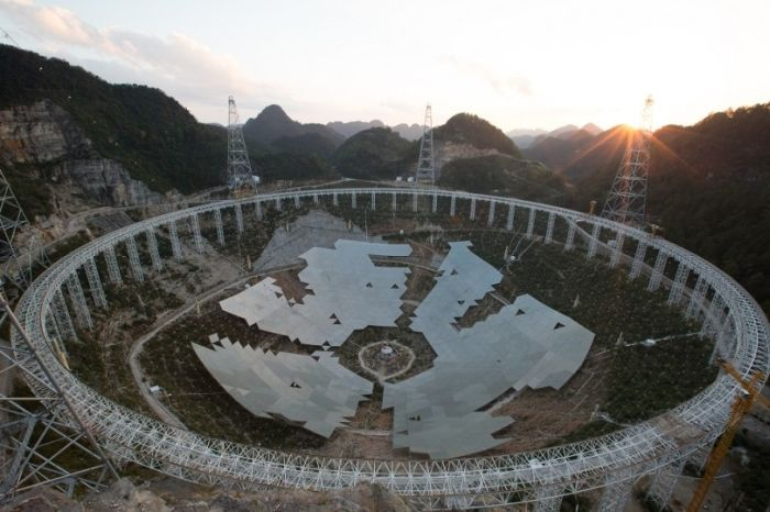 China Completes The World's Largest Radio Telescope