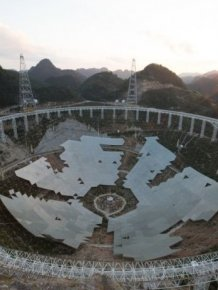 China Completes The World's Largest Radio Telescope