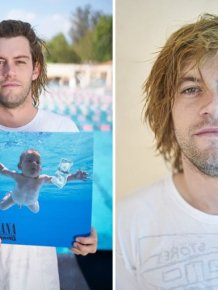 The Baby From Nirvana's Nevermind Recreates The Cover 25 Years Later