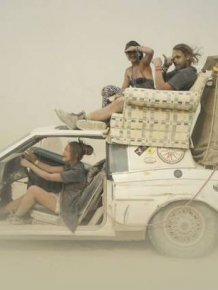 Crazy Photos From Burning Man Festival Captured By Victor Habchy