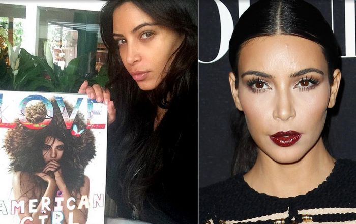 The kardashians without makeup