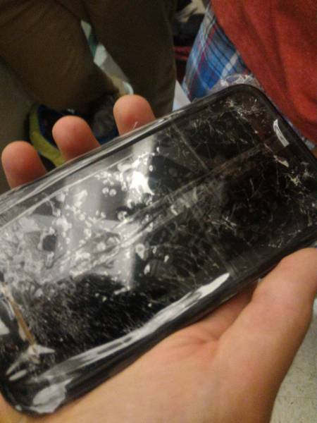 People Who Somehow Managed To Completely Wreck Their Electronics