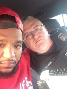 Cop Drives Grieving Man 100 Miles To Be With His Family
