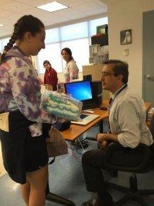 Teacher Cracks Up When He Sees Student's Surprise Gift