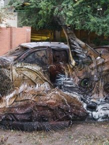 Artist Finds A Creative Way To Remind Us About Pollution