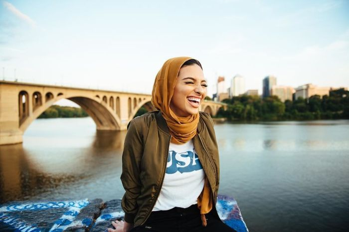 Muslim Journalist Wears Her Hijab While Posing For Playboy