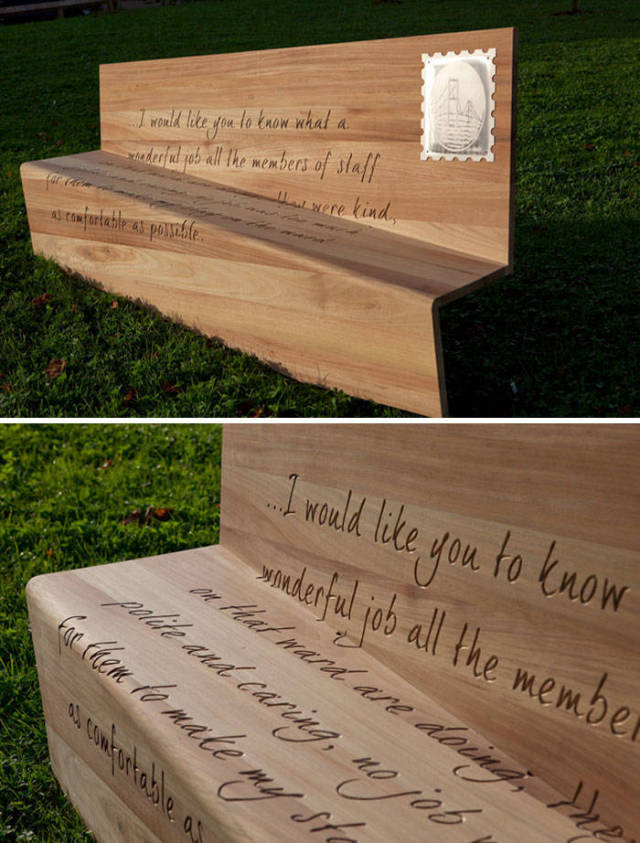 Some Of The Most Unusual And Creative Benches Ever Constructed