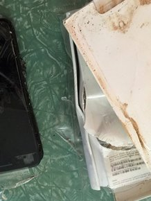 iPhone 7 Explodes In The Box Upon Delivery