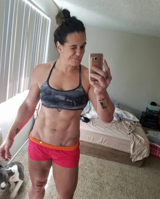 Gabi Garcia Is A MMA Fighter Who Regularly Spars With Men