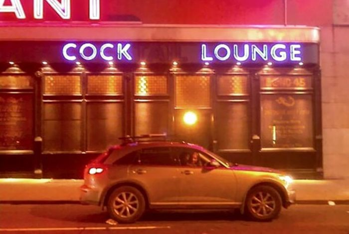 The Most Awkward Neon Sign Fails Ever