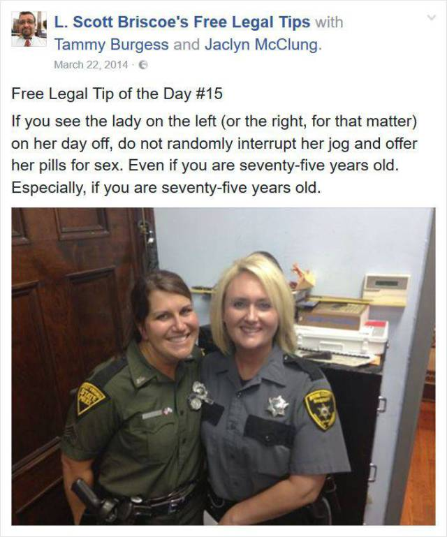 Funny Free Legal Tips From A Lawyer Who's Seen Some Crazy Stuff