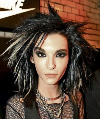 Bill Kaulitz Shows Off His Colorful New Hairstyle