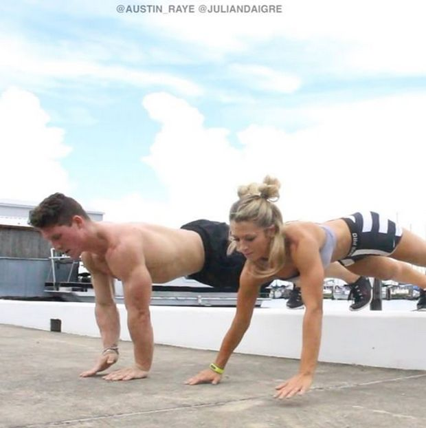This Ripped Guy And His Acrobatic Girlfriend Are Insanely Athletic